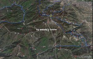【泰山图片】泰山徒步穿越路线(内附卫星地图)__已更完