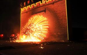 【蔚县图片】2011年2月元宵节河北蔚县民俗 - 打树花