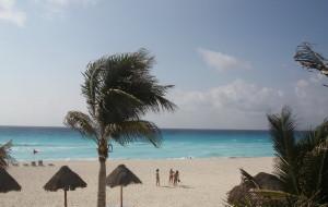 【坎昆图片】墨西哥之旅——碧海蓝天的度假胜地坎昆