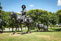 美国丝绸之路-齐泽姆之路 德克萨斯牛仔的骄傲