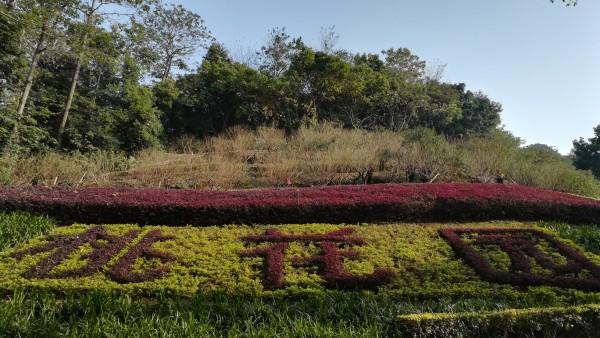 佛山西樵山中的南海观音,天湖公园,桃花园,茶园,桂花园,四方竹,翠岩