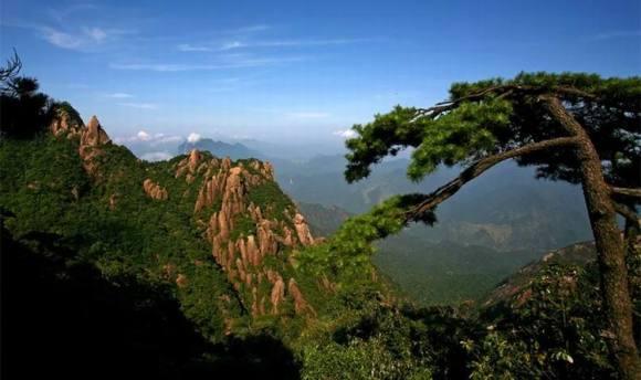 江西上饶 三清山风景名胜区 景点门票(道教名山)
