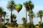 摩洛哥马拉喀什热气球飞行体验(含酒店往返接送 飞行证书 骆驼骑行)
