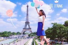 你说埃菲尔铁塔很美;我说是的!【法国双城 里昂+巴黎】