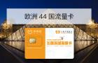 马蜂窝推荐 · 欧洲43国3G/4G上网流量卡(不限流量/包邮/送卡针)