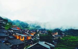 【堂安图片】黔行记|堂安侗寨:晨雨里的小寨