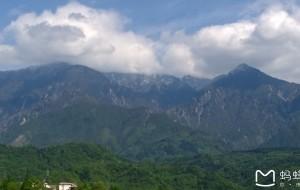 【彭州图片】问顶九峰-谁与争峰-九峰山