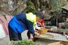 黔东南瀑布之大岩脚古法造纸坊·丹寨石桥
