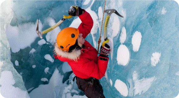 冰岛 索尔黑马冰川徒步之旅( 雷克雅未克往返 英文服务 )