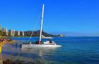 檀香山市区 中文包车游 waikiki海滩+钻石头山+经典小环岛一日游