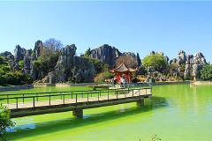 游遍中国自由行----2013年春节游二十一天行程之(云南石林  云南昆明市)