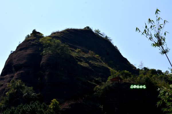 显灵山老子雕像