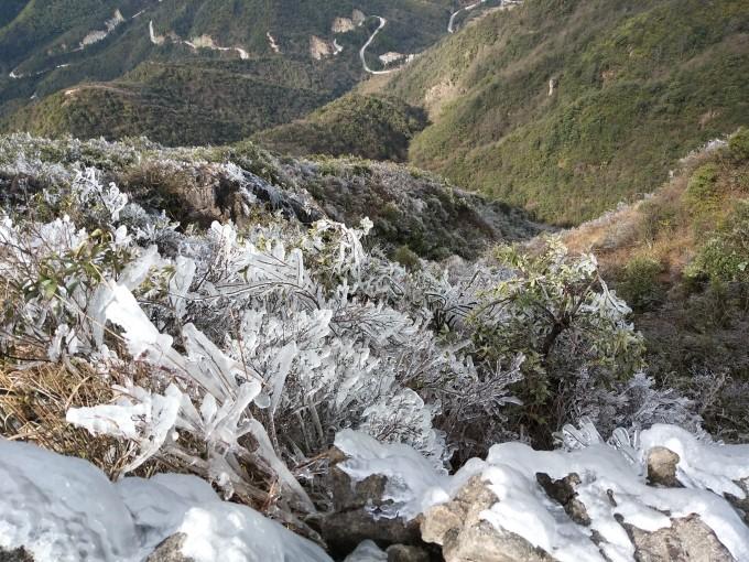 冰雪奇缘-赏连州金子山最美冰挂,广东旅游攻略 - 蚂