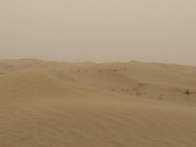 2018初夏徒步库布奇沙漠