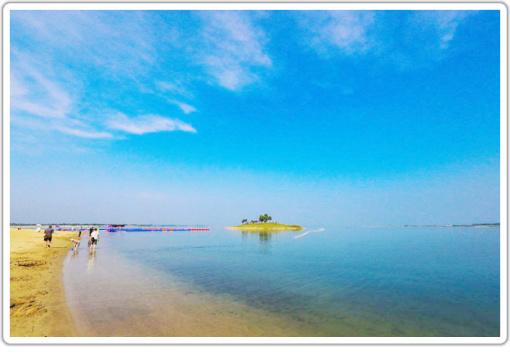 荆门漳河观音岛 常青岛一日游(阳光沙滩~山清水秀~景色如画~4a景区~纯