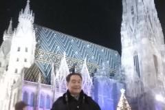 东欧六国之旅...观维也纳圣史蒂芬大教堂夜景记