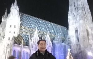 【奥地利图片】东欧六国之旅...观维也纳圣史蒂芬大教堂夜景记