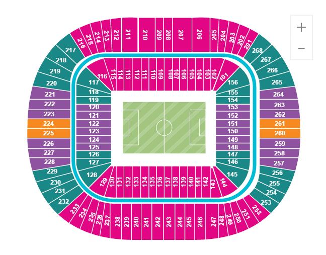 2018俄罗斯世界杯决赛球票 m64(莫斯科卢日尼基球场/三类票可选)