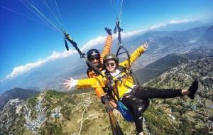 尼泊尔娱乐-博卡拉滑翔伞