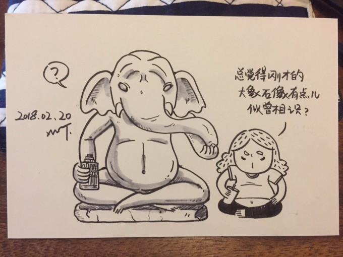 【柬埔寨】手绘明信片——以不一样的方式讲述我的金边旅行故事