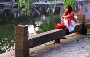 【嘉兴图片】住住活着的西塘,看看发呆的美女