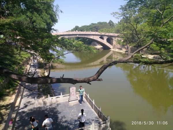 赵州桥细部结构.