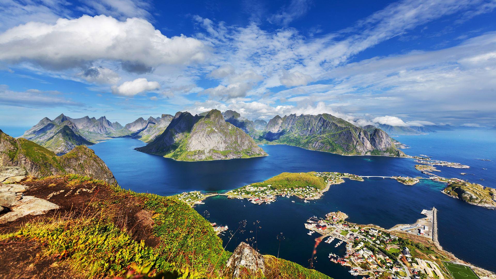 挪威旅游 罗弗敦群岛 亨宁斯韦尔皮划艇出海体验
