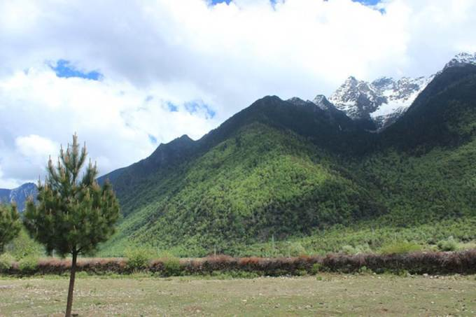 西藏的5a级自然风景区:巴松措