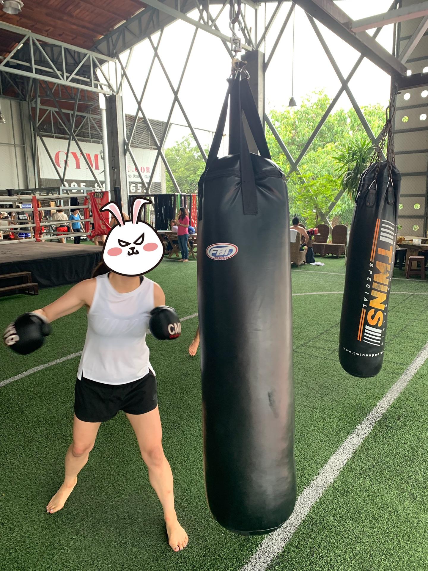 清迈学习泰拳初体验
