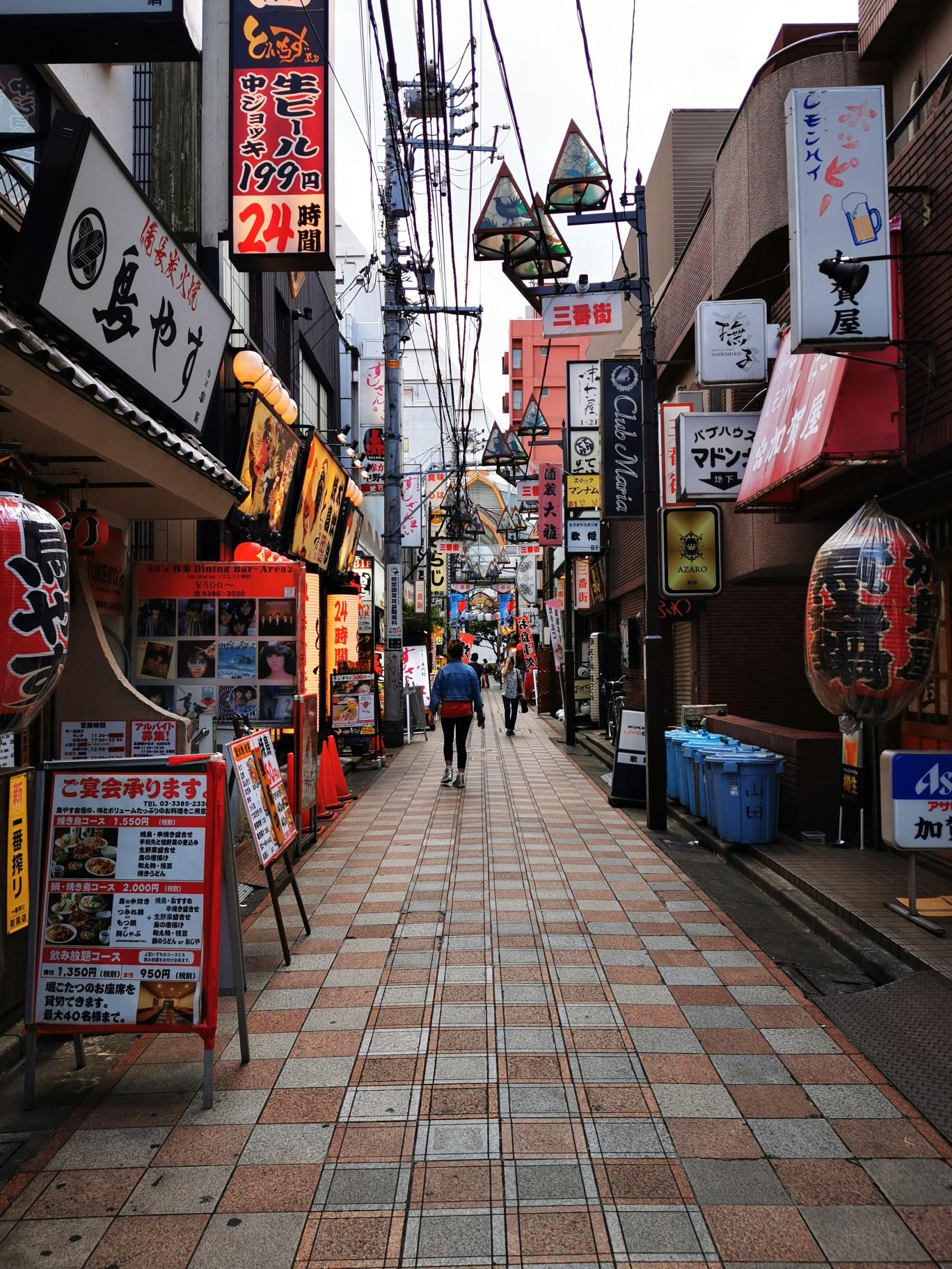 日本七天六晚之东京