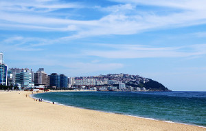 釜山娱乐-海云台海水浴场