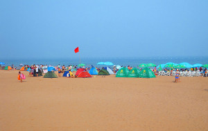 【黄岛图片】夏日黄岛金沙滩+胶南龙湾、琅琊台二日游