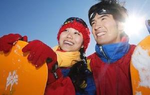 天津娱乐-盘山滑雪场