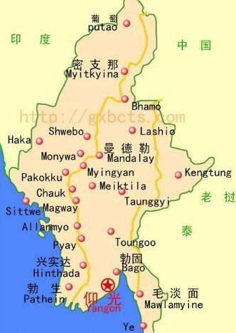 缅甸人均gdp_龙的旗帜飘扬在异国的土地上(2)