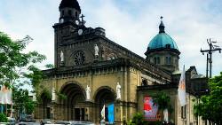 菲律宾景点-马尼拉大教堂(Manila Cathedral)