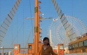 大阪娱乐-帆船型观光船圣玛丽亚号