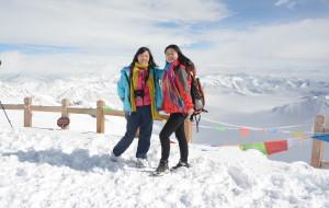 【黑水图片】达谷冰川-奶子沟观红叶-冰川