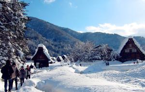【白川乡图片】日本岐阜白川乡----最童话的雪在这里
