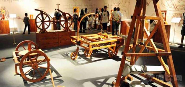 达芬奇机械发明展