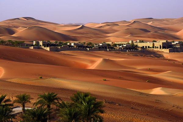 西亚地区旅游 阿布扎比旅游攻略 阿拉伯沙漠 (鲁卜哈利沙漠,the empty
