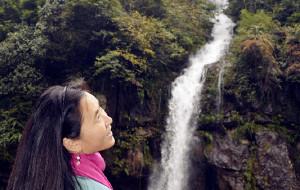 【荥经图片】养在深闺的龙苍沟和汉源湖
