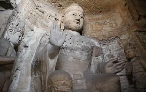 【大同图片】古代雕刻艺术的宝库——云冈石窟