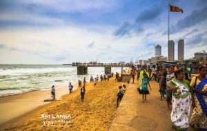 斯里兰卡美食-加勒菲斯绿地广场