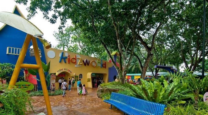 天人合一的新加坡动物园