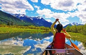 【班夫国家公园图片】#花样游记大赛#记忆中的湖水都是你的颜色 班芙-Jasper-冰原大道-萌动物