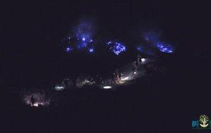 """【东爪哇图片】【印尼】伊真火山,带你去看自然奇迹""""蓝色火焰"""""""