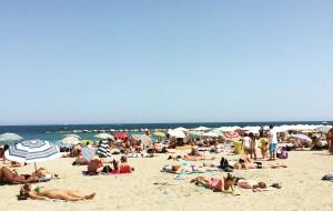 普罗旺斯美食-Cannes Beach, le