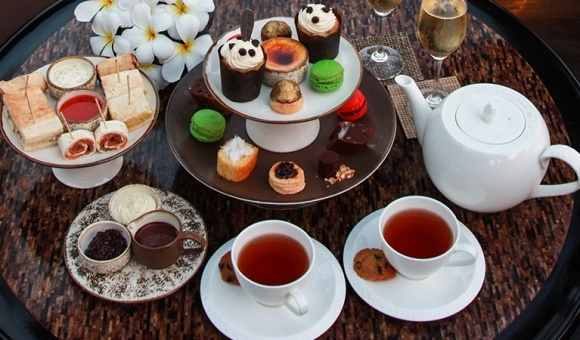 巴厘岛metis法国餐厅下午茶图片