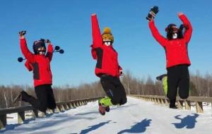 【东北图片】天寒地冻,一路向北。三只萌熊游漠河。最冷的季节,最北的地方。