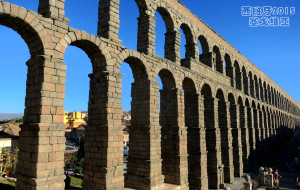 【塞戈维亚图片】西班牙的塞戈维亚古城